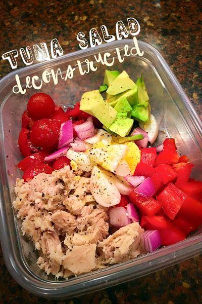 Tuna Salad - Deconstructed > Feel Great Now!